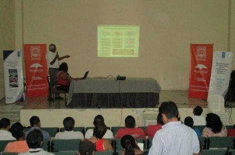 Imparten Naciones Unidas y CEPCO talleres en prevención de desastres a autoridades municipales