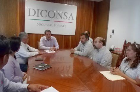 Firma Diconsa convenio con CDI para distribuir alimentos a comedores y albergues indígenas