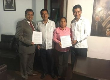 Firman SAPAO y autoridades municipales convenio para unificar esfuerzos