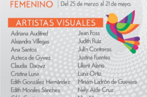 """""""El infinito arte femenino"""", muestra pictórica para concientizar sobre igualdad de género"""