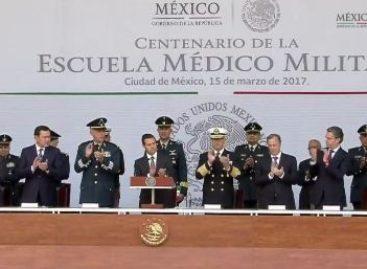 Inauguran las nuevas instalaciones de la Escuela Militar de Enfermeras