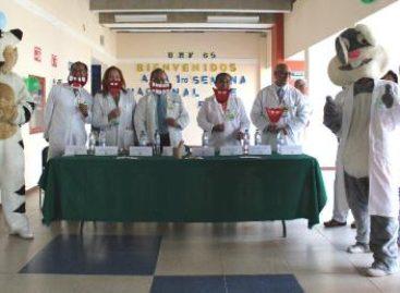 Con Feria de la Salud, inaugura IMSS Primera Semana Nacional de Salud Bucal en UMF 65