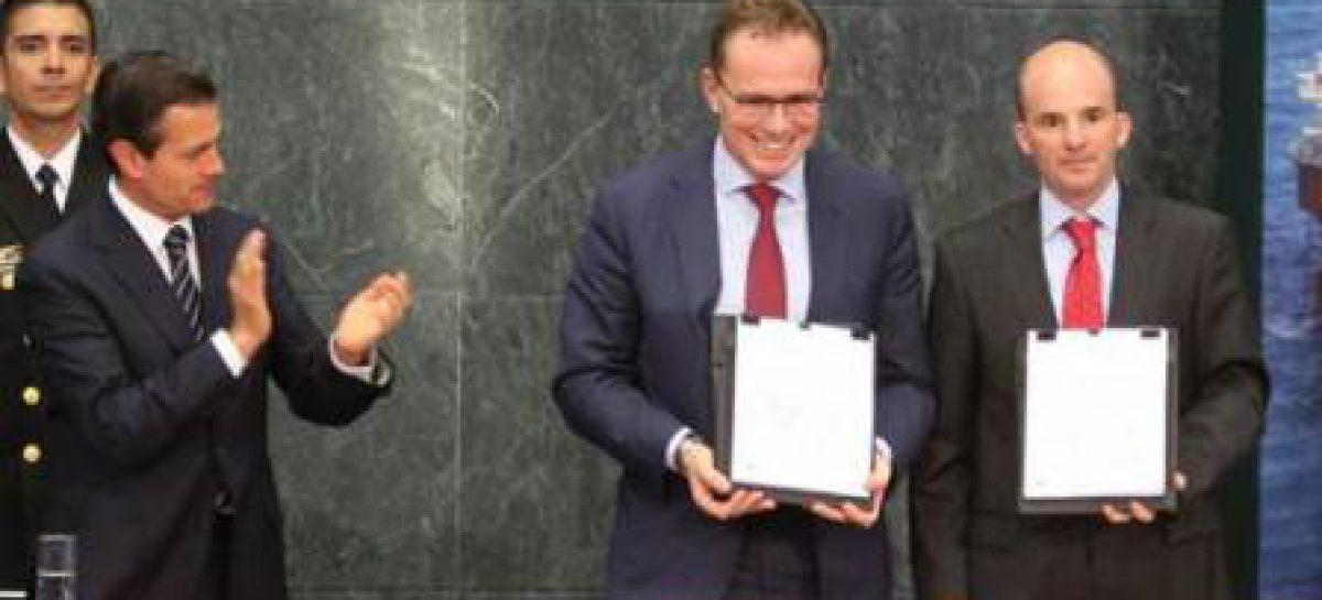 Firman PEMEX y BHP Billiton contrato de licencia para el desarrollo del Bloque Trion de aguas profundas