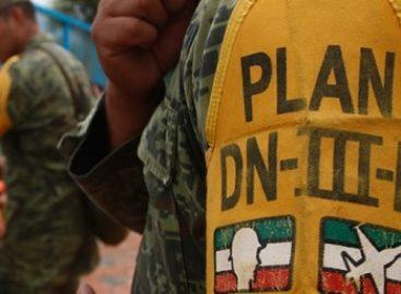 Aplica Ejército Mexicano Plan DN-III-E por incendios forestales