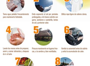 Emiten recomendaciones por temporada de calor en Oaxaca