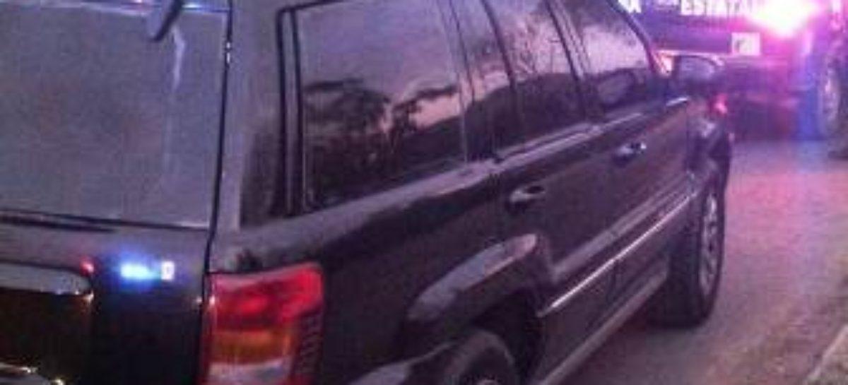 Aseguran camioneta blindada en Oaxaca de Juárez