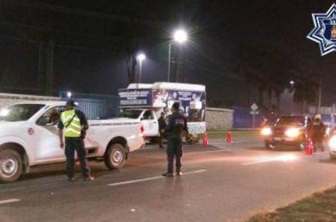 Aplica Policía Vial Estatal Operativo Alcoholímetro simultáneo en Oaxaca de Juárez y Tuxtepec