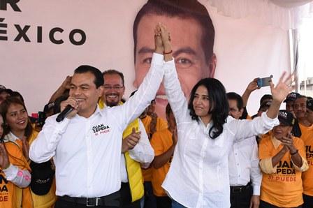Candidato del PRD al gobierno del EdoMex