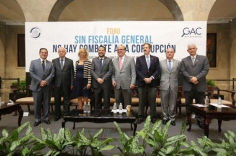 Debaten senadores y especialistas proceso de designación del Fiscal Anticorrupción