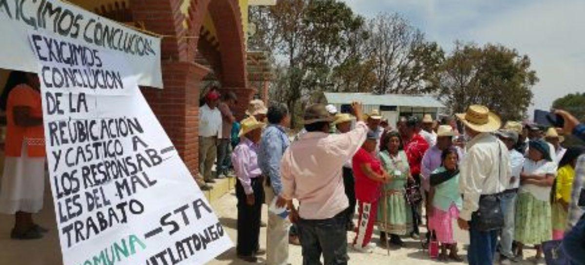"""Inacabadas e inhabitables """"ciudades sustentables"""" en Santiago Mitlatongo y Santa Cruz Mitlatongo"""