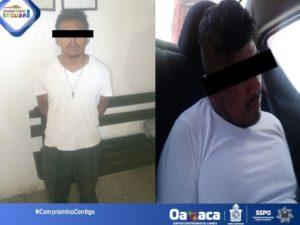 Israel ML y Jesús GR, de 35 y 25 años de edad, acusados de robo de vehículo.