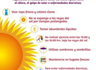 """Promueve municipio de Xoxocotlán medidas ante """"ola de calor"""" en Oaxaca"""