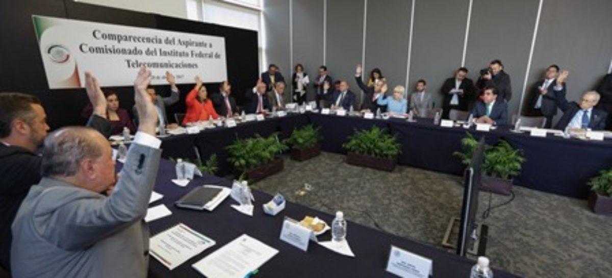 Ratifican comisiones unidas del Senado a Arturo Robles Rovalo como comisionado del IFT