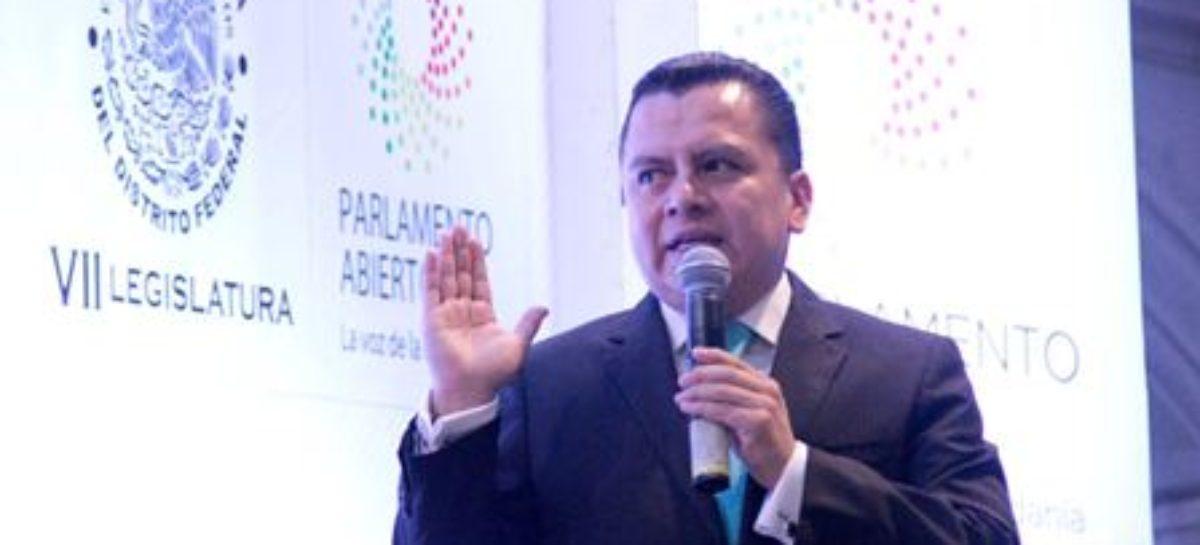 Debe Ciudad de México cumplir con leyes secundarias: Granados Covarrubias