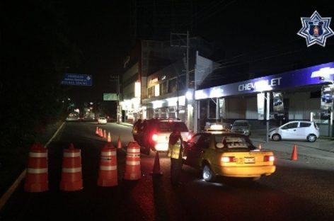 Arrestados 19 conductores en las últimas horas en Operativo Alcoholímetro