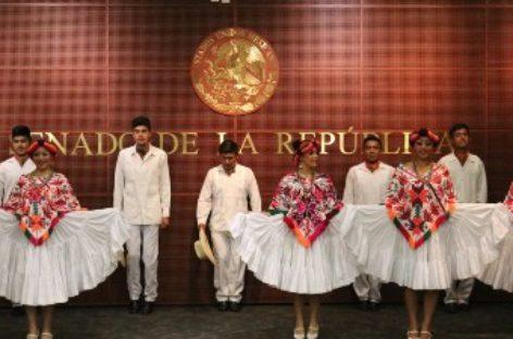 Anuncian senadores concurso de baile de huapango en Querétaro