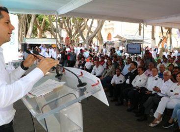Anuncia Murat Hinojosa cinco mdp para fortalecer acciones de protección civil