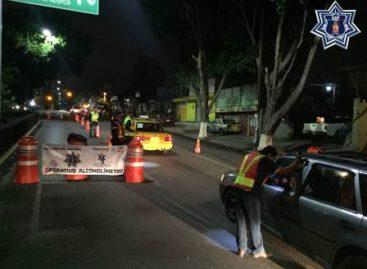 Arrestados 32 conductores durante Alcoholímetro en tres municipios de Oaxaca: SSPO