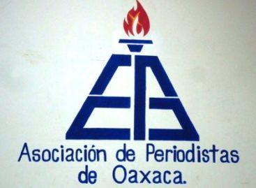 Elige Asociación de Periodistas de Oaxaca a su nueva dirigencia