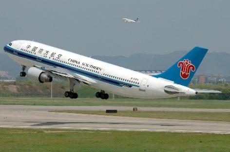 Inaugura aerolínea china su primer vuelo a México