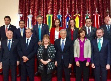 En Argentina, se reúne canciller mexicano con sus homólogos de la Alianza del Pacífico y del Mercosur