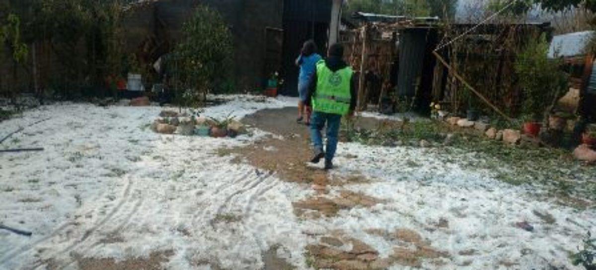 Evalúa Protección Civil daños por granizada en cuatro comunidades de Oaxaca