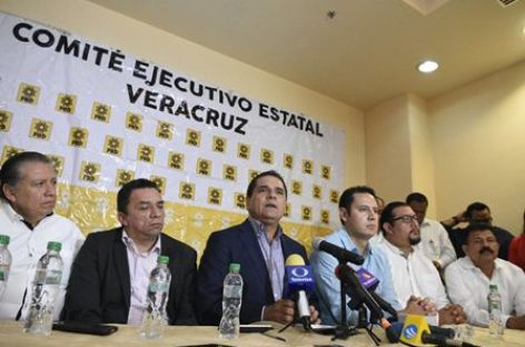 PRD, el mejor proyecto progresista para Veracruz y México: Silvano Aureoles
