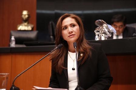 Senadora del Grupo Parlamentario del PAN