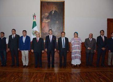 Ajustes en el gabinete, 13 nombramientos en el gobierno del estado de Oaxaca