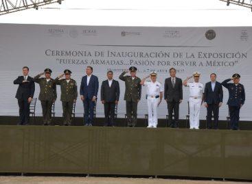 """Inauguran exposición """"Fuerzas Armadas… Pasión por Servir a México"""" en Monterrey"""