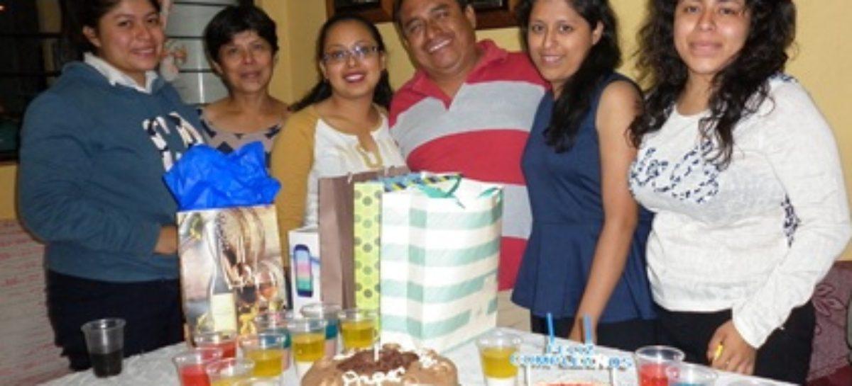 Recibió Dagoberto Pérez muestras de cariño en su cumpleaños