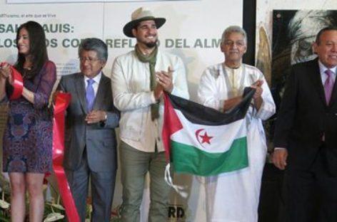 Piden a la ONU resolución a favor del pueblo saharaui con exposición pictórica