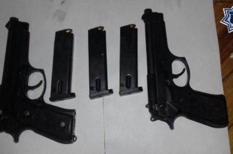 Detiene Policía Estatal a cuatro sujetos por tentativa de secuestro de ex funcionario municipal