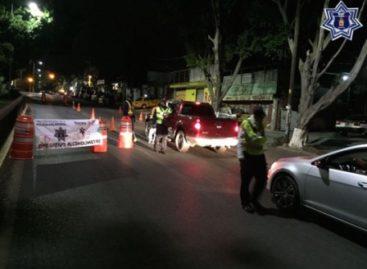 Arrestan a 13 conductores en Operativo Alcoholímetro en Oaxaca: SSPO
