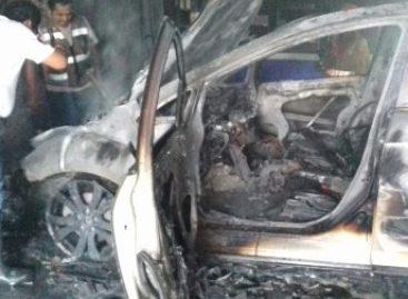 Controlan elementos incendio de la SSPO en agencia automotriz del Istmo