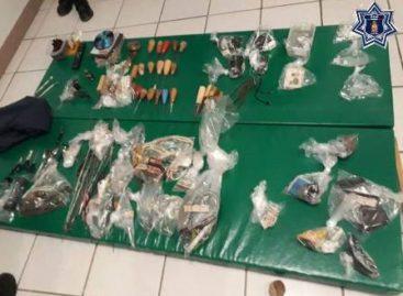 Aseguran drogas durante operativo en el CERESO de Miahuatlán de Porfirio Díaz, Oaxaca