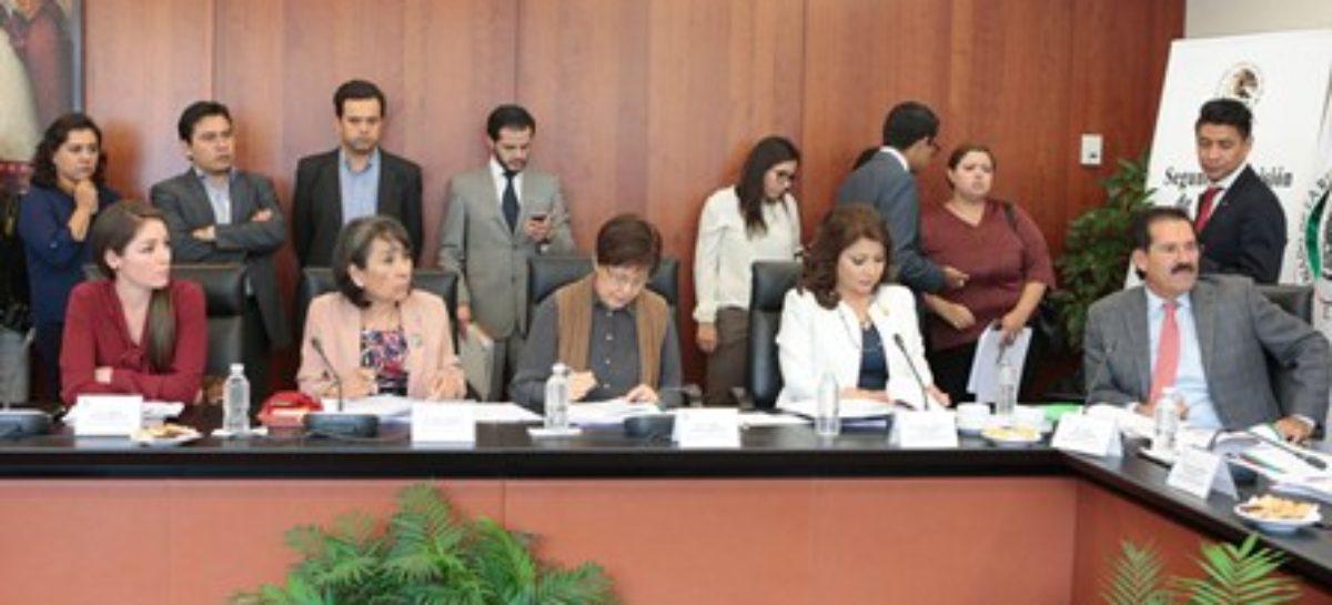Pide Primera Comisión a SNSP estrechar coordinación con estados en combate a la delincuencia