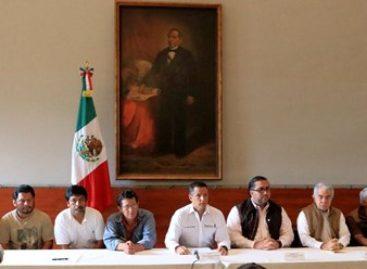 Anuncia gobernador de Oaxaca medidas para reconstruir el tejido social en Nochixtlán