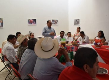 Se compromete SAGARPA a impulsar potencial productivo de San Pedro Amuzgos