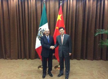 Fortalecen México y China diálogo político; Avanza asociación estratégica integral