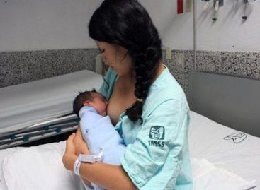 Lactancia, el mejor alimento para el neonato: IMSS