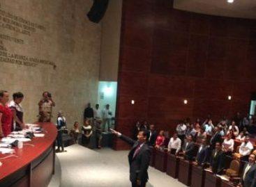 Por unanimidad, elige Congreso a Rubén Vasconcelos como fiscal General del Estado de Oaxaca