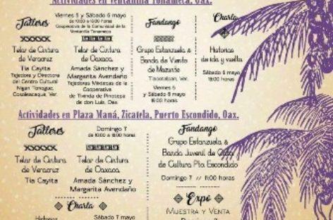 Oaxaca y Veracruz se hermanan en el Encuentro de Tejedoras de Telar de Cintura