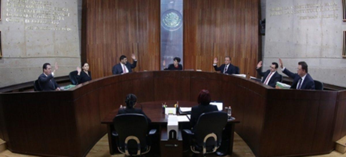 Confirma TEPJF decisiones de Comisión de Quejas y Denuncias del INE en Edomex y Veracruz