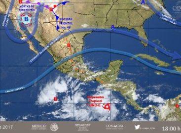 Llama CEPCO a mantenerse alerta por depresión tropical en Oaxaca