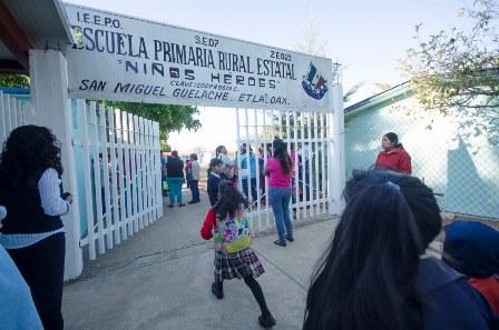 De educación básica de Oaxaca