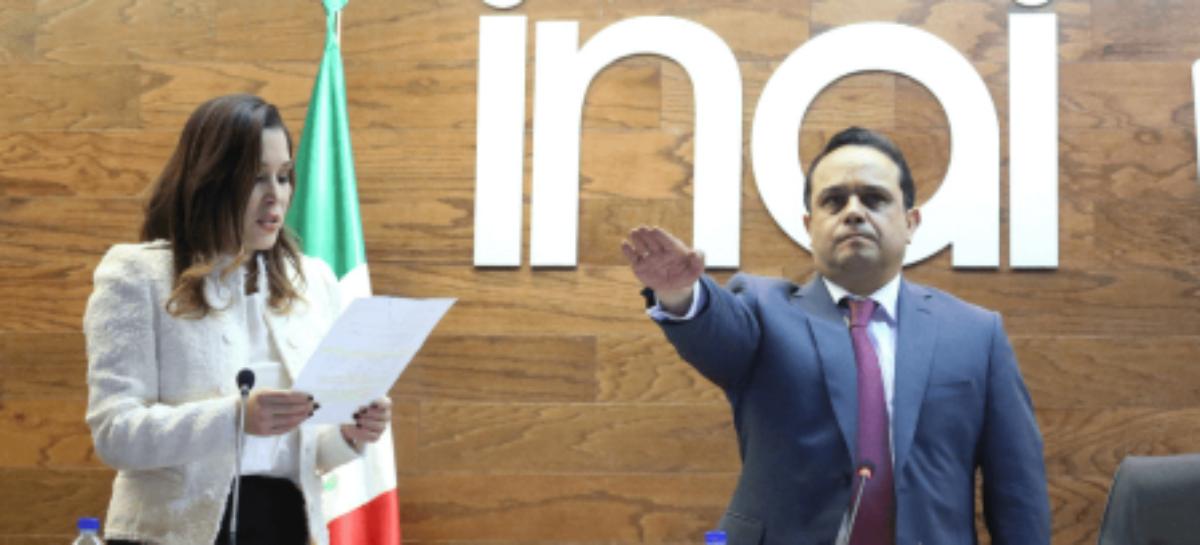 Francisco Acuña Llamas electo como comisionado presidente del INAI