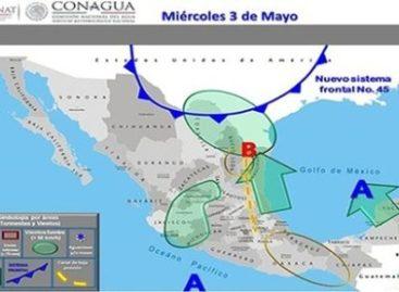 Prevén lluvias torrenciales para este jueves y viernes en Oaxaca