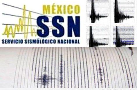 Sin daños en Oaxaca, por sismo de 5.4 en Cintalapa, Chiapas