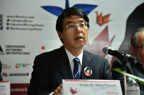 Librofest Metropolitano, palanca de acercamiento México-Japón: Akira Yamada
